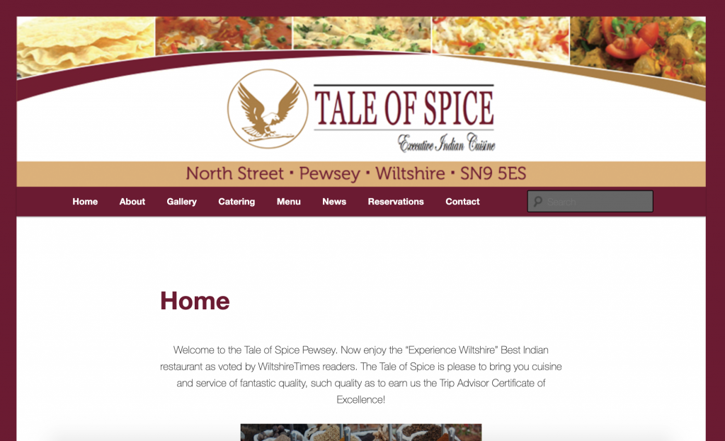 Tale Of Spice Pewsey